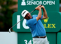 Golf - 2019 Senior Open Championship at Royal Lytham & St Annes - First Round <br /> <br /> <br /> Fred Couples (USA) drives off the 16th tee.<br /> <br /> COLORSPORT/ALAN MARTIN