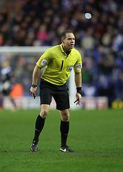 referee Stephen Martin - Photo mandatory by-line: Matt Bunn/JMP - Tel: Mobile: 07966 386802 25/01/2014 - SPORT - FOOTBALL - King Power Stadium - Leicester - Leicester City v Middlesbrough - Sky Bet Championship