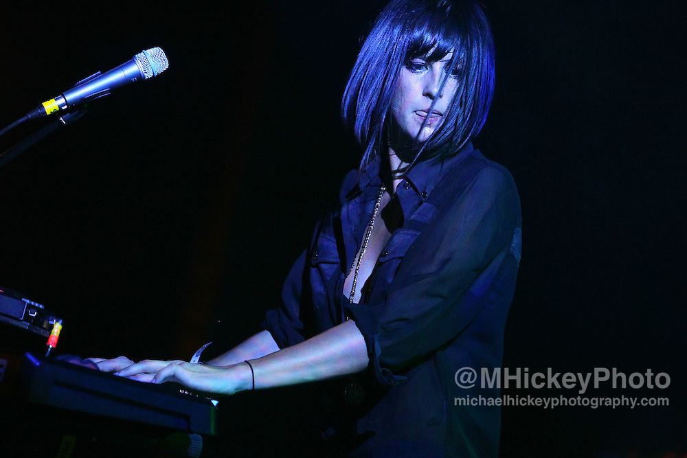 Phantogram performs at the Filter Magazine After Party at the Hard Rock Hotel in Chicago. ..Photo by Michael Hickey
