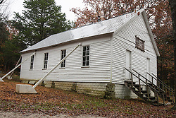 Joppa Missionary Baptist Church, Est. 1862, Mammoth Cave National Park, Kentucky, United States of America