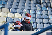 Sunderland fans in Santa hats before kick off during the EFL Sky Bet League 1 match between Portsmouth and Sunderland at Fratton Park, Portsmouth, England on 22 December 2018.