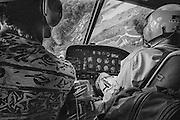 French guiana, dorlin, inini.<br /> <br /> Exploitation aurifere. <br /> Les rotations d'h&eacute;licoptere assurent l&rsquo;installation, l'approvisionnement des sites et l&rsquo;acheminement de la production&hellip;