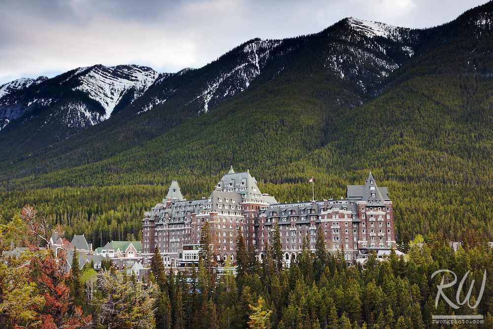 Fairmont Banff Hot Springs Resort, Banff, Alberta, Canada