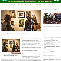 Valley Star - Student Art Gallery <br />