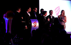 The Bristol Sport Foundation are interviewed on stage at Bristol Sport's Annual Gala Dinner at Ashton Gate Stadium  - Mandatory by-line: Robbie Stephenson/JMP - 08/12/2016 - SPORT - Ashton Gate - Bristol, England  - Bristol Sport Gala Dinner