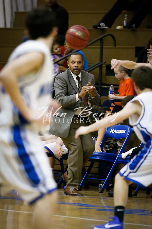 December/20/12:  MCHS JV Boys Basketball vs Rappahannock.  Madison wins 57-28.