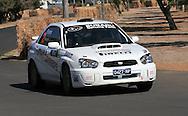 Eli EVANS & Chris MURPHY .Subaru  Impreza WRX.Motorsport-Rally/2009 Forest Rally .Shakedown .3rd of April 2009.Busselton Foreshore, Busselton, Western Australia.(C) Joel Strickland Photographics