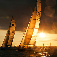 J P Morgan, Round the Island Race, Cowes, Isle of Wight, UK, 2013, Sports Photography