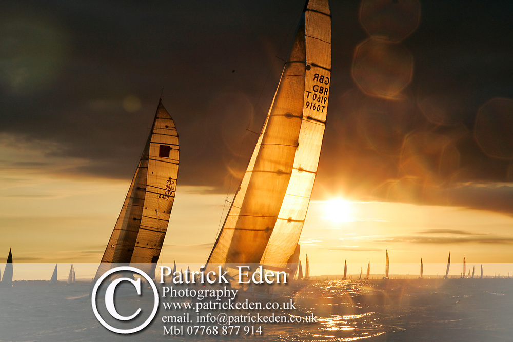 J P Morgan, Round the Island Race, Cowes, Isle of Wight, UK, 2013,