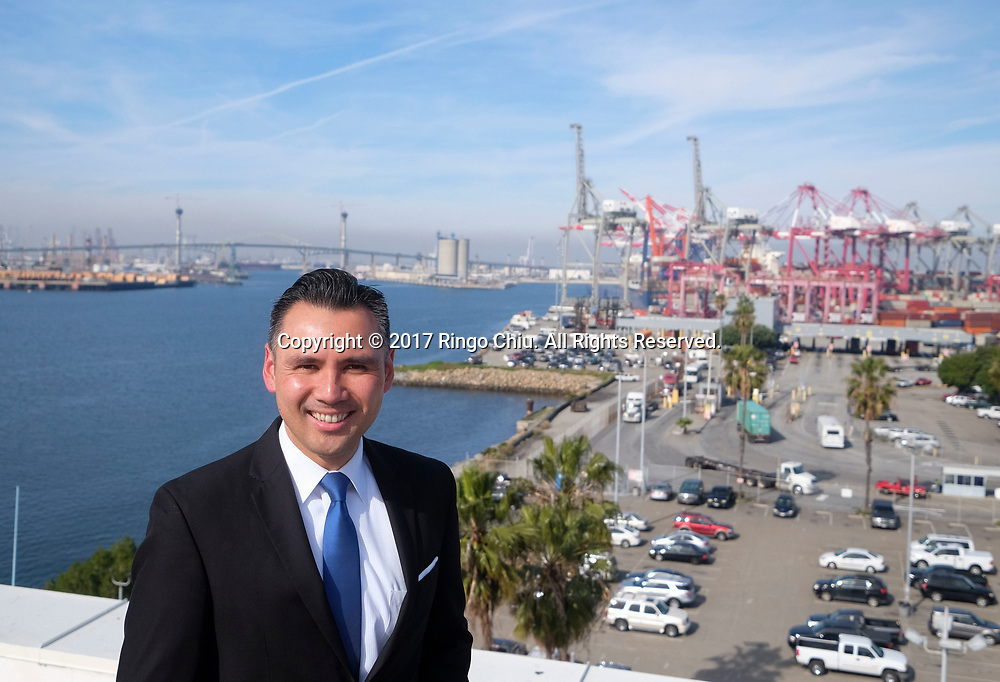 Noel Hacegaba, Chief Commercial and Operations Officer for the Port of Long Beach.(Photo by Ringo Chiu/PHOTOFORMULA.com)<br /> <br /> Usage Notes: This content is intended for editorial use only. For other uses, additional clearances may be required.