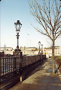 Amateur Photos, Old Dublin, January 1984, Kingsbridge Station, Parkgate St, Telephone Box, Lanterns, Substation transformer,