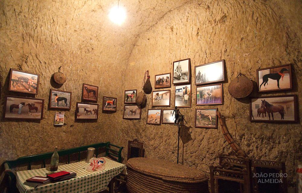 The underground cellars of Villafáfila.