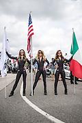 April 5-7, 2019: Lamborghini Super Trofeo: Barber Motorsport Park. Race 1 Lamborghini grid girls