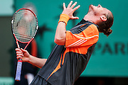 Roland Garros. Paris, France. May 30th 2006. .Safin against Gonzalez for the first tour of the tennis french open.