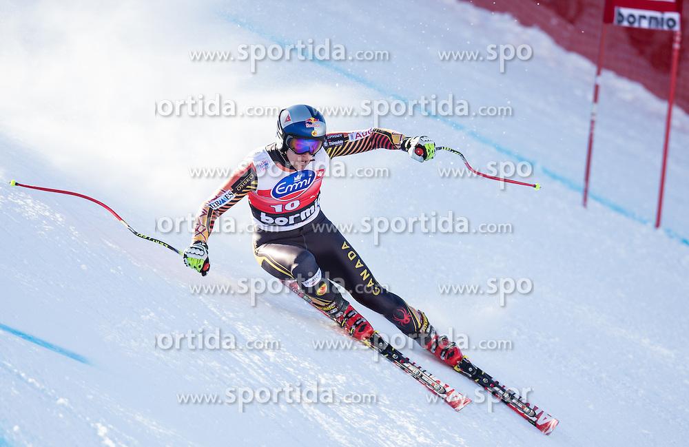 27.12.2013, Stelvio, Bormio, ITA, FIS Ski Weltcup, Bormio, Abfahrt, Herren, 1. Traininglauf, im Bild Erik Guay (CAN) // Erik Guay of Canada in action during mens 1st downhill practice of the Bormio FIS Ski Alpine World Cup at the Stelvio Course in Bormio, Italy on 2012/12/27. EXPA Pictures © 2013, PhotoCredit: EXPA/ Johann Groder