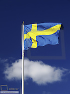 Swedish flag, Sweden, Uppland, Uppsala