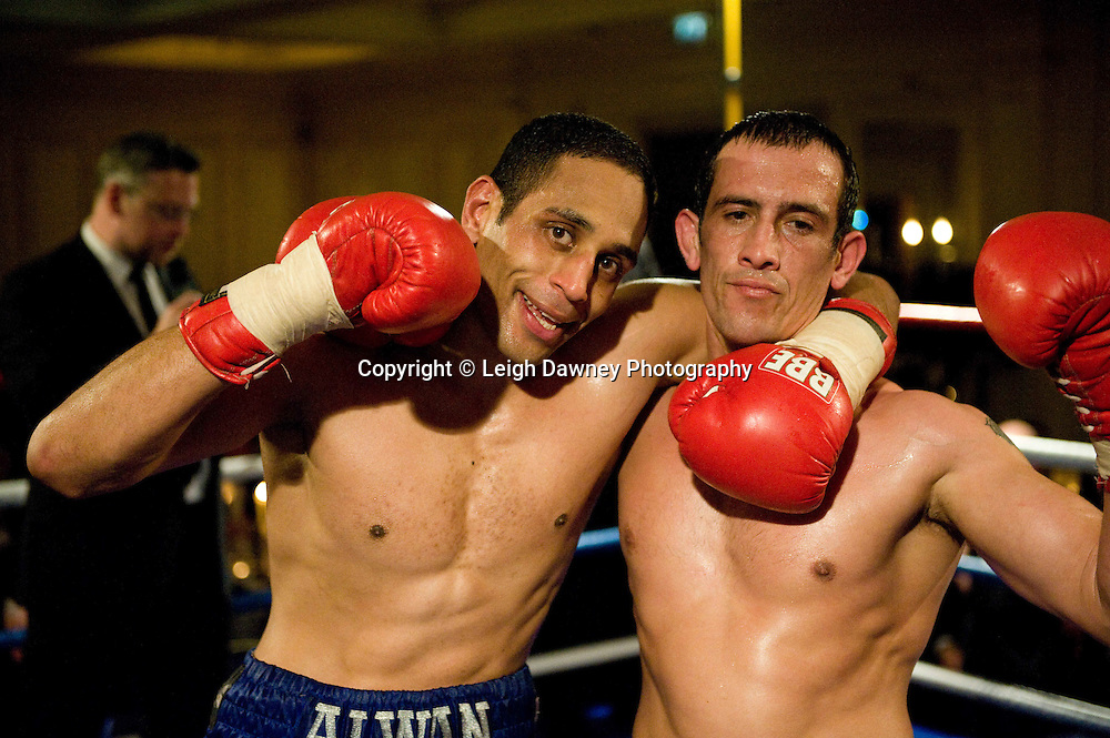 Wayne Alwan-Arab defeats Kevin McCauley at London's Millennium Hotel, Mayfair, 28th January 2010 - Mayfair Sporting Club (Mickey Helliet) Credit: © Leigh Dawney Photography