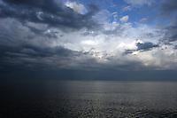 Utsikt over Baikalsjøen, verdens dypeste innsjø, view over Baikal, the world deepest lake