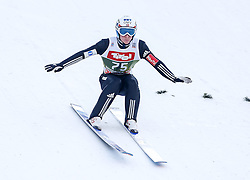 03.01.2015, Bergisel Schanze, Innsbruck, AUT, FIS Ski Sprung Weltcup, 63. Vierschanzentournee, Training, im Bild Anders Fannemel (NOR) // Anders Fannemel of Norway in action during Trial Jump of 63 rd Four Hills Tournament of FIS Ski Jumping World Cup at the Bergisel Schanze, Innsbruck, Austria on 2015/01/03. EXPA Pictures © 2015, PhotoCredit: EXPA/ Peter Rinderer