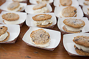 Malted Barley ice cream sandwiches made by Sarah Minnick and Emily Squadra of Lovely's Fifty Fifty restaurant