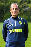 Michel Der Zakarian - 14.09.2015 - Photo officielle de Nantes<br />Photo : Andre Ferreira / Icon Sport