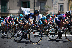 Simona Frapporti (ITA) of Hitec Products Cycling Team accelerates out of a corner in the second lap of Stage 10 of the Giro Rosa - a 124 km road race, starting and finishing in Torre Del Greco on July 9, 2017, in Naples, Italy. (Photo by Balint Hamvas/Velofocus.com)