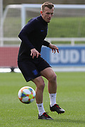 England midfielder James Ward-Prowse during England's Euro 2020 Qualifier training session at St George's Park National Football Centre, Burton-Upon-Trent, United Kingdom on 23 March 2019.