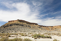 Barren desert landscape