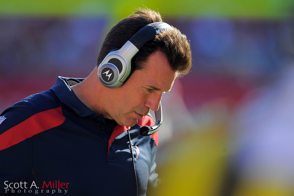 Houston Texans head coach Gary Kubiak during the Texans game against the Tampa Bay Buccaneers at Raymond James Stadium on Nov. 13, 2011 in Tampa, Fla.  ..©2011 Scott A. Miller