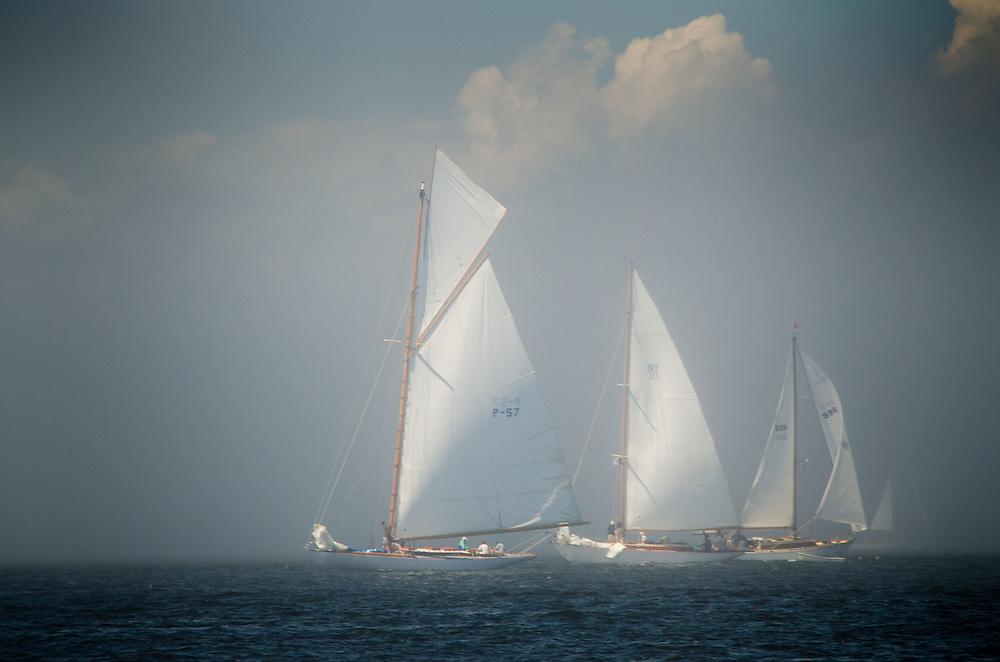 Concordias in Castine Classic Yacht Race, Castine Harbor, Castine, Maine, US, August 1, 2013