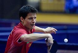 Alexei Smirnov of Russia at 10th Slovenian Open Table Tennis Championships - Pro Tour Velenje Slovenian Open tournament, in Round 1, on January 15, 2009, in Red sports hall, Velenje, Slovenia. (Photo by Vid Ponikvar / Sportida)