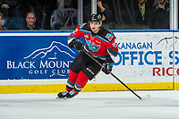 KELOWNA, CANADA - DECEMBER 2: Colum McGauley #23 of the Kelowna Rockets skates against the Kootenay Ice on December 2, 2017 at Prospera Place in Kelowna, British Columbia, Canada.  (Photo by Marissa Baecker/Shoot the Breeze)  *** Local Caption ***