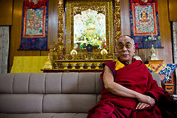 Dalai Lama is seen at his residence in Dharamsala, India, May 25, 2009.