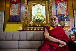 Dalai Lama is seen at his residence in Dharamsala, India, May 25, 2009.