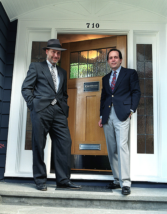 Seattle attorneys Steve Fury (left), and Bill Bailey, who own the Fury Bailey Law Firm in Seattle, are personal injury attorneys who have been in business since 1991.