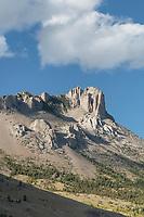 Castle Reef Mountain Sun Canyon Montana