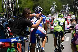 Blaz Jarc (SLO) of Adria Mobil at 1st stage of Tour de Slovenie 2009 from Koper (SLO) to Villach (AUT),  229 km, on June 18 2009, in Koper, Slovenia. (Photo by Vid Ponikvar / Sportida)