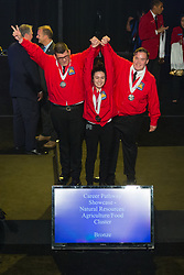 The 2017 SkillsUSA National Leadership and Skills Conference Competition Medalists were announced Friday, June 23, 2017 at Freedom Hall in Louisville. <br /> <br /> Career Pathways - Natural Resources-Agriculture-Food<br /> <br /> Team RI (consisting of Bailey R Nance, Emma J Rossetti, Bradley Marcosa)<br />   High School Upper Cape Regional<br />   Gold Bourne, MA<br /> Career Pathways - Natural Resources-Agriculture-FoodTeam RD (consisting of Sara Pesiri, Matthew Tomlin, Steven Coder)<br />   High School Bucks County Technical High School<br />   Silver Fairless Hills, PA<br /> Career Pathways - Natural Resources-Agriculture-FoodTeam RF (consisting of GABRIEL ALVAREZ, MACK BLAIR, RAMZY IDRIS)<br />   High School Dubiski Career High School<br />   Bronze Grand Prairie, TX<br /> Career Pathways - Natural Resources-Agriculture-FoodTeam RA (consisting of Sarah Church, Mahaila Ellis, Archie Staley)<br />   College Wilkes Community College<br />   Gold Wilkesboro, NC