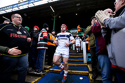 Harry Thacker of Bristol Bears walks out to face Leicester Tigers - Mandatory by-line: Robbie Stephenson/JMP - 04/01/2020 - RUGBY - Welford Road - Leicester, England - Leicester Tigers v Bristol Bears - Gallagher Premiership Rugby
