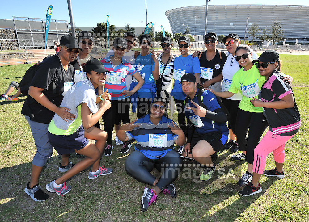 CAPE TOWN, SOUTH AFRICA - SEPTEMBER 19:  during the 2015 Sanlam Cape Town Marathon WP Athletics Fun Runs at Cape Town Stadium on September 19, 2015 in Cape Town, South Africa. (Photo by Roger Sedres/Gallo Images)