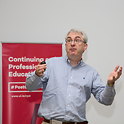 19.05.2017      <br /> Pictured at The Journey to Enterprise Excellence 1 Conference, Kemmy Business School, University of Limerick was Sean McKeown, Lufthansa. Picture: Alan Place.