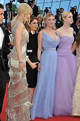 'Beguiled' premiere during the 70th Cannes Film Festival. 24 May 2017 Pictured: Nicole Kidman, Kirsten Dunst, Elle Fanning. Photo credit: Pongo / MEGA TheMegaAgency.com +1 888 505 6342