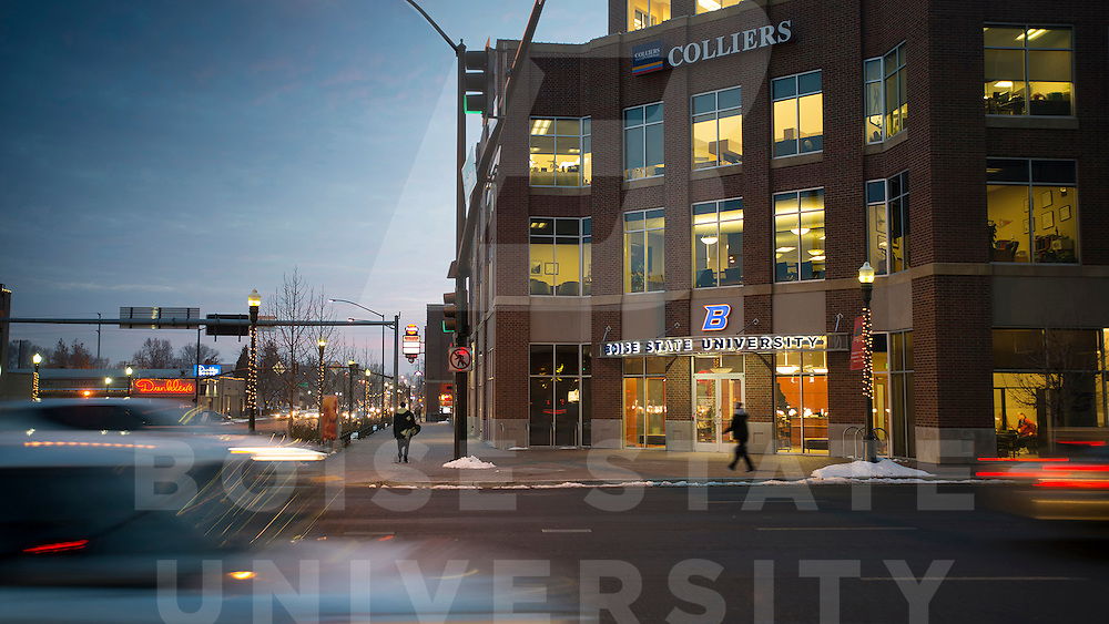 Venture College office, Colliers building Capitol Blvd, for brochure, John Kelly photo