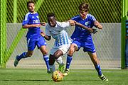 10.09.2016; Zuerich; Fussball FC Zuerich Academy - FC Zuerich U15 - Vaud Lausanne. <br /> <br /> (Andy Mueller/freshfocus)