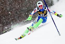 SKUBE Matic of Slovenia competes during the 1st Run of 10th Men's Slalom - Pokal Vitranc 2013 of FIS Alpine Ski World Cup 2012/2013, on March 10, 2013 in Vitranc, Kranjska Gora, Slovenia. (Photo By Vid Ponikvar / Sportida.com)