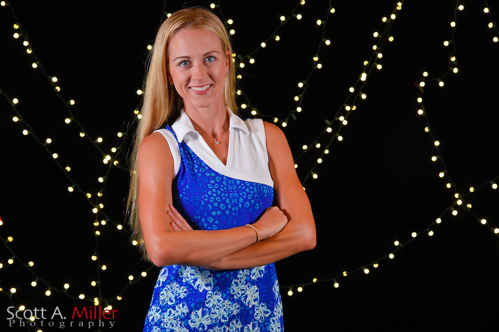 Krista Puisite during a portrait session prior to the Symetra Tour's Guardian Retirement Championship  on April 19, 2016 in Sarasota, Florida.<br /> <br /> &copy;2016 Scott A. Miller