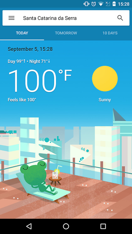 Way to hot to do anything productive. Three straight days of extreme heat.