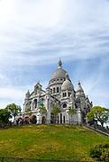 Basilica Sacre Coeur, Montmartre, Paris, France