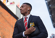 Anthony Martial of Manchester United before the Barclays Premier League match between Crystal Palace and Manchester United at Selhurst Park, London, England on 31 October 2015. Photo by Phil Duncan.