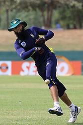 July 27, 2018 - Dambulla, Sri Lanka - South African cricketer  Hashim Amla during a practice session ahead of the 1st One Day International cricket match against Sri Lanka at Rangiri Dambulla International Stadium, Dambulla, Sri Lanka on Saturday 28 July 2018  (Credit Image: © Tharaka Basnayaka/NurPhoto via ZUMA Press)